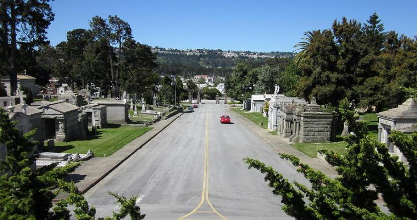Colma, CA: The City of Souls